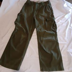 Hollister womens cargo pants